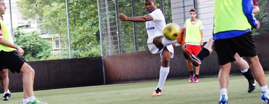Play football league in West London Shepherds Bush