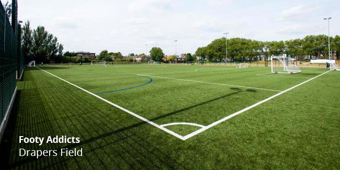 Play football in East London, Stratford